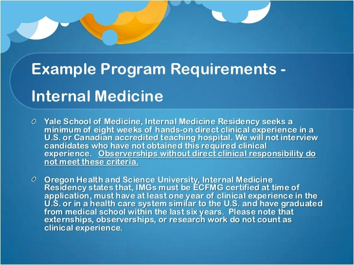personal statements for residency programs
