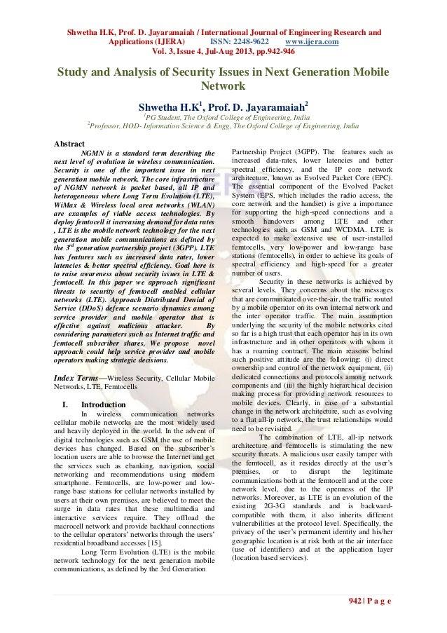 Shwetha H.K, Prof. D. Jayaramaiah / International Journal of Engineering Research and Applications (IJERA) ISSN: 2248-9622...