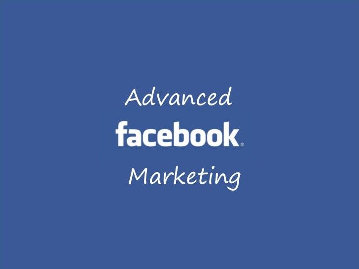 AdvancedMarketing
