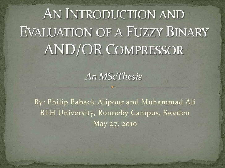 A Lossless FBAR Compressor