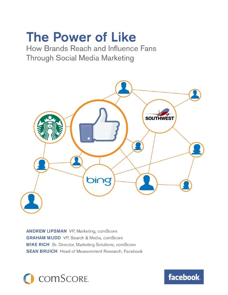The power of like: how brands reach and influence fans through SMM