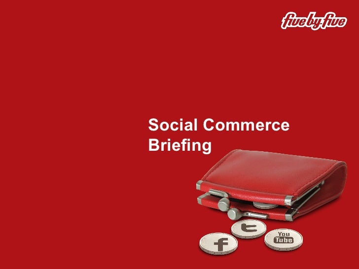Five by Five Social Commerce