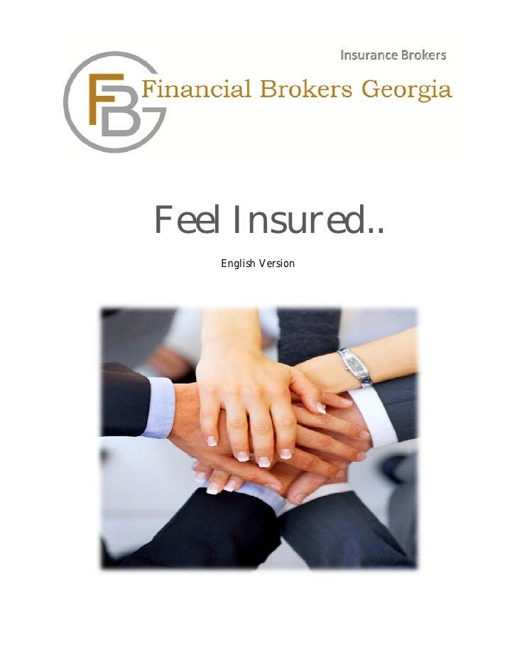 Financial Brokers Georgia (FBG) presentation
