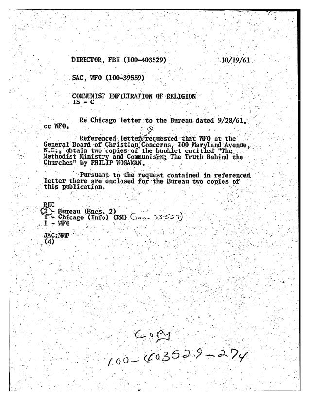 Fbi  files - communism-religion, hq-ebf-274