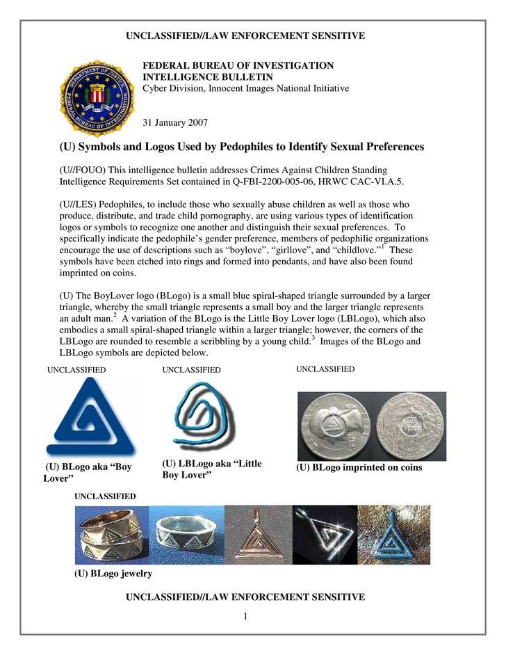 Fbi Pedophile Symbols