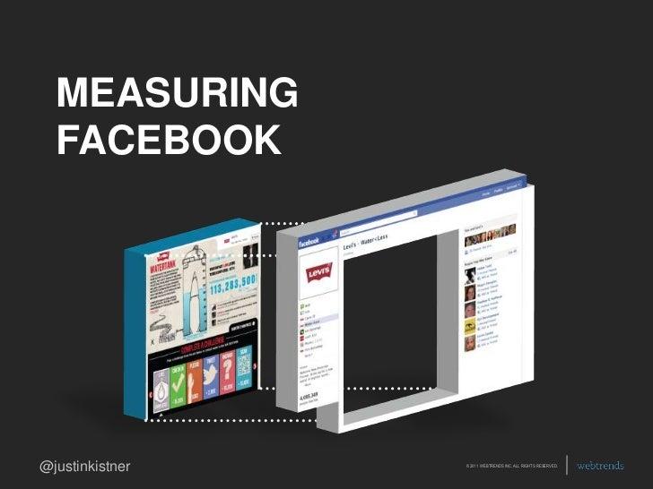 MEASURING FACEBOOK<br />
