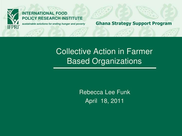 INTERNATIONAL FOODPOLICY RESEARCH INSTITUTEsustainable solutions for ending hunger and poverty   Ghana Strategy Support Pr...
