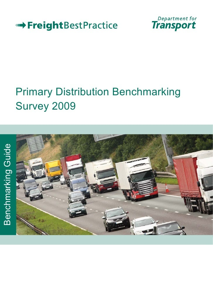 Primary Distribution Benchmarking                      Survey 2009 Benchmarking Guide