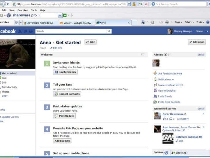 Anna - facebook page