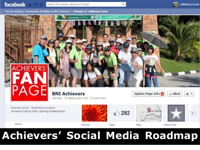3 Steps Creativng Facebook Page for BNI Members