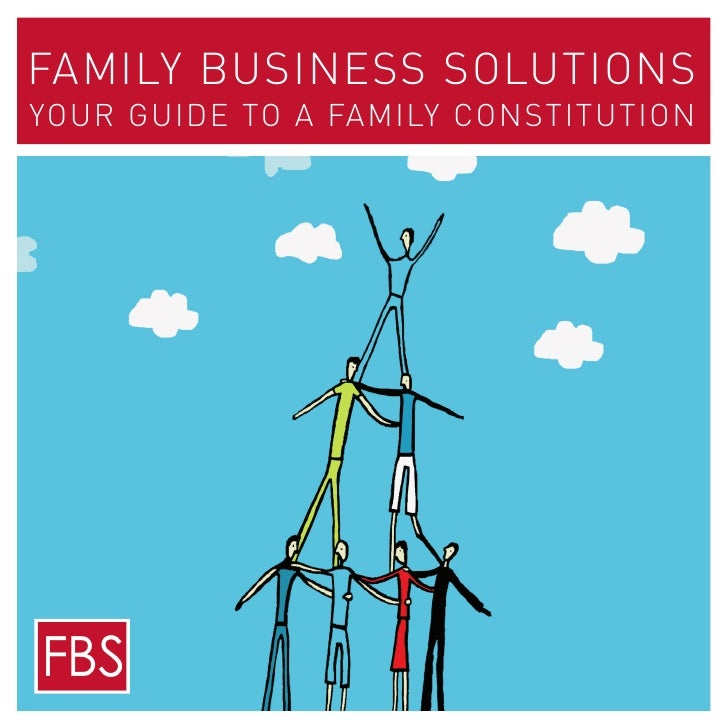 Family Business Solutions Your Guide to a Family Constitution