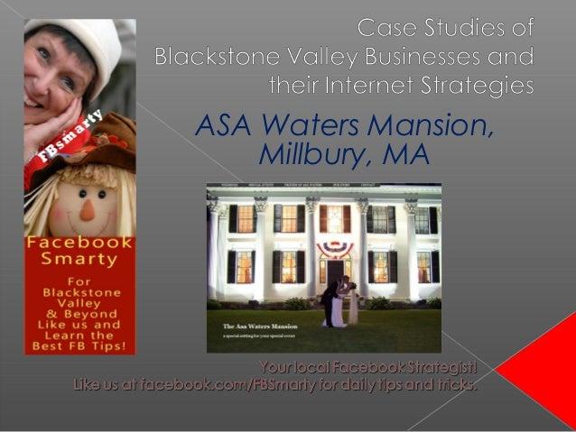 ASA Waters Mansion, Millbury, MA