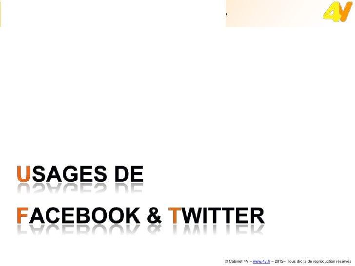 FaceBook et Twitter pour les professionnels du tourisme
