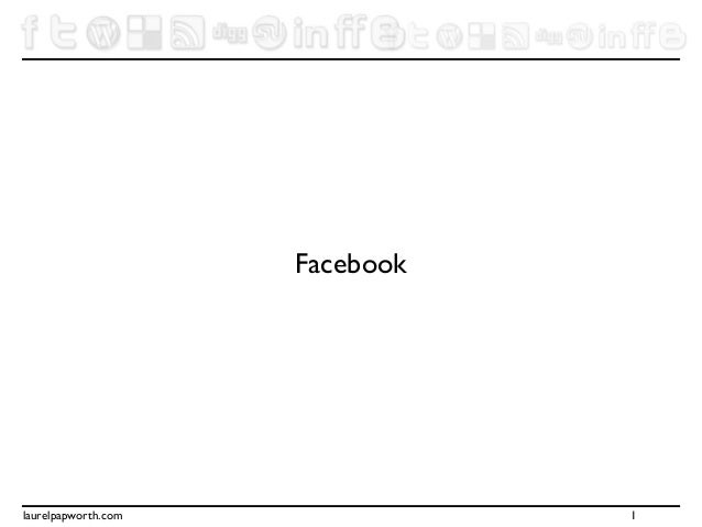 Facebook and Twitter for Business Course Notes USYD