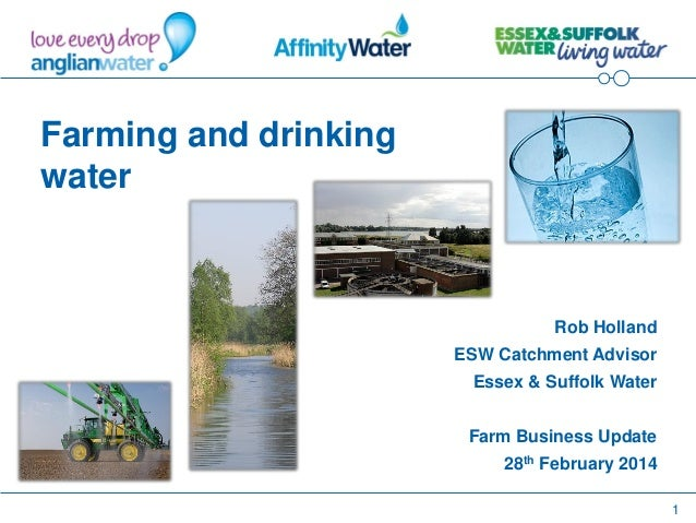 Farm Business Update 2014: Aylsham, Essex and Suffolk Water