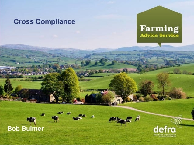 Farm Business Update 2014: FAS and cross compliance