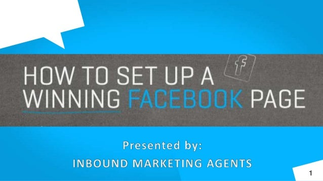 How to Set Up a Winning Facebook Page