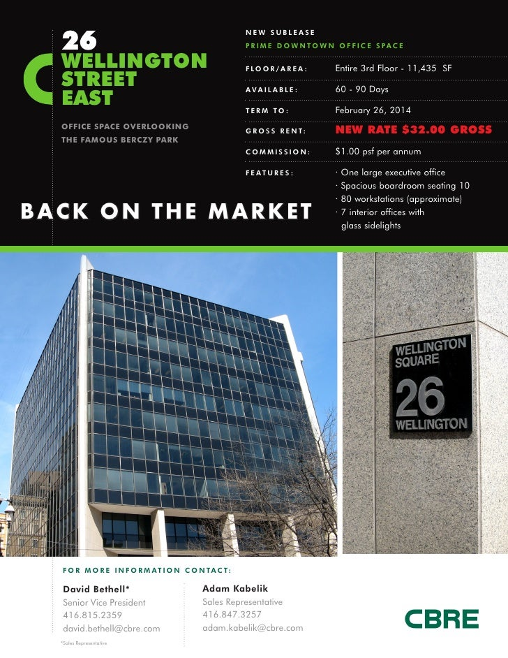 26                                                     NEW SUBLEASE                                                     P ...