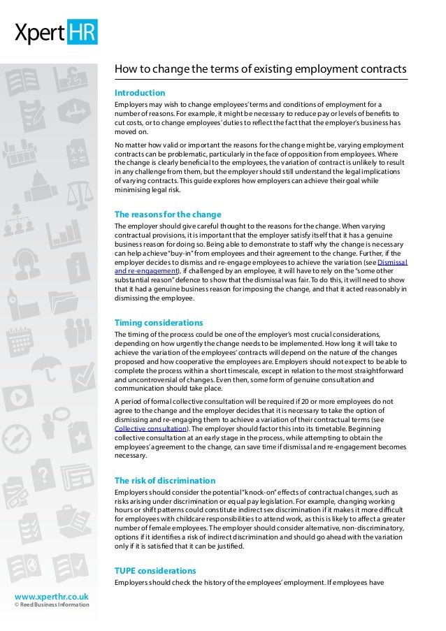 write employment law essay
