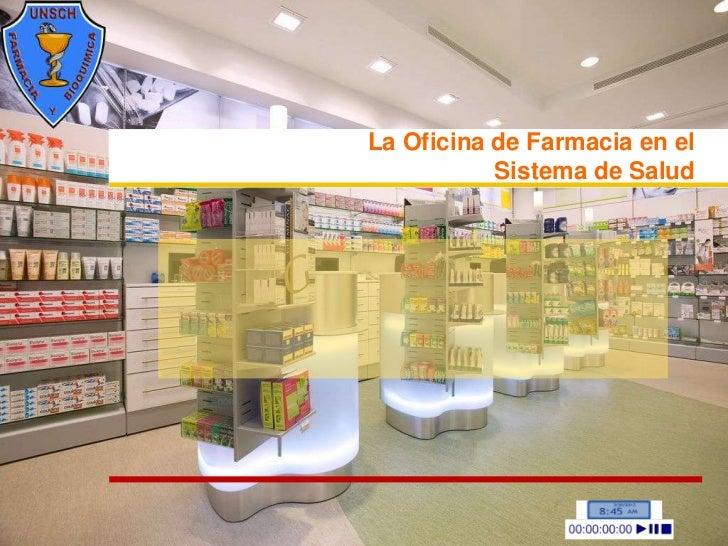 La oficina de farmacia en el sistema de salud