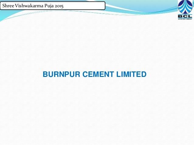 Shree Cement Limited : Vishwakarma puja
