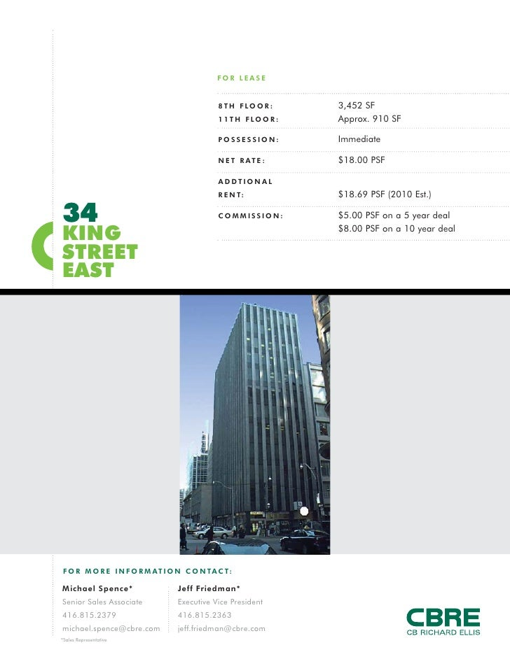 FOR LEASE                                               8 T H F LO O R :     3,452 SF                                     ...