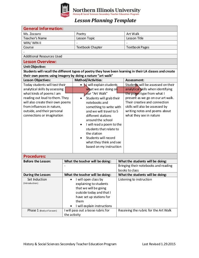 Sunday School Or Bible Lesson Plan Template By Social Mandegarfo