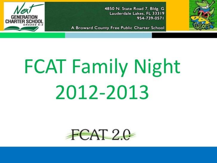 FCAT Night