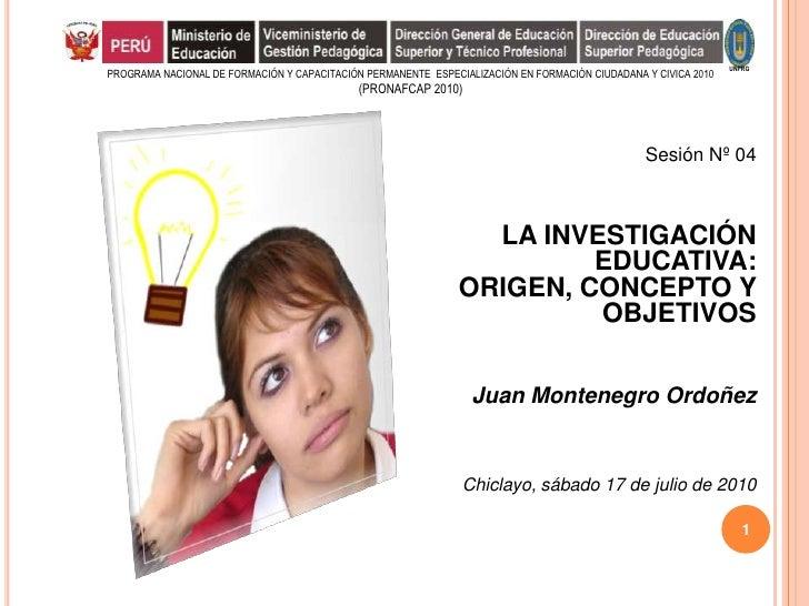 UNPRGPROGRAMA NACIONAL DE FORMACIÓN Y CAPACITACIÓN PERMANENTE ESPECIALIZACIÓN EN FORMACIÒN CIUDADANA Y CIVICA 2010        ...