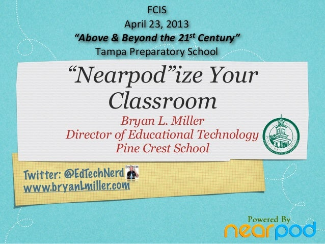 FCIS Nearpod Tampa Presentation