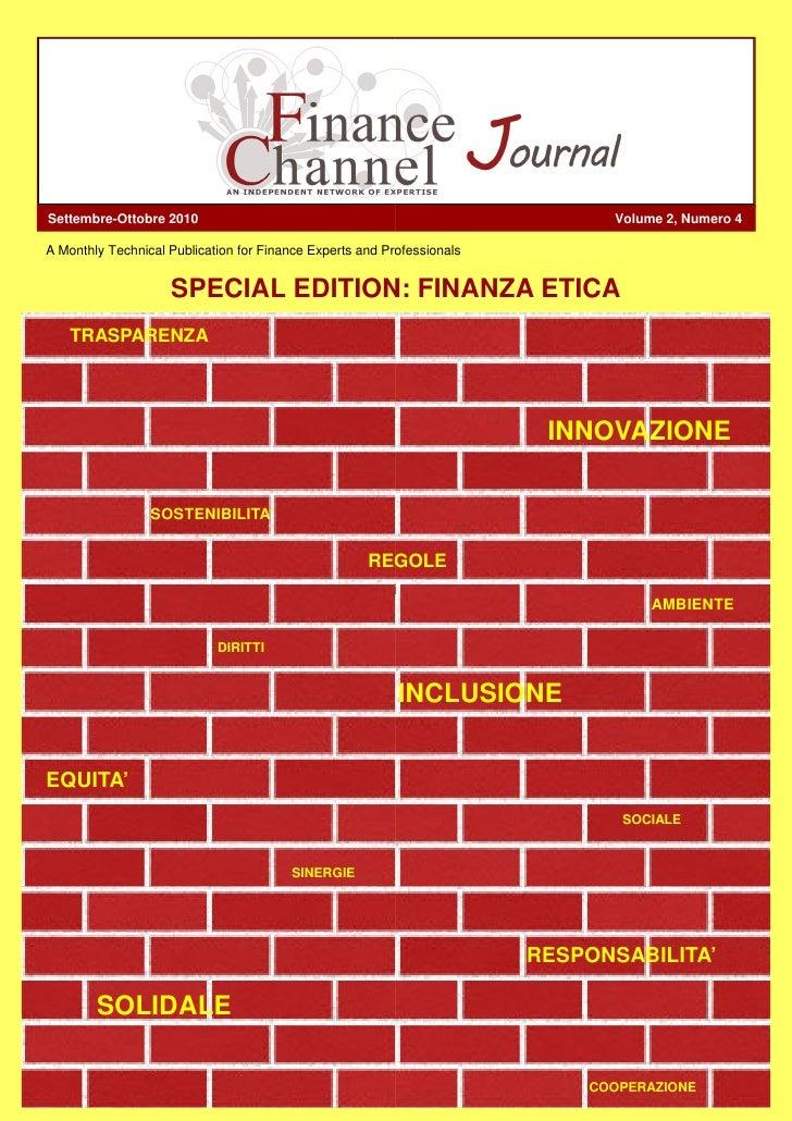 Settembre-Ottobre 2010                                                        Volume 2, Numero 4  A Monthly Technical Publ...