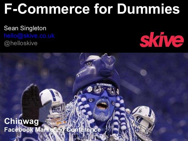 F-Commerce for Dummies
