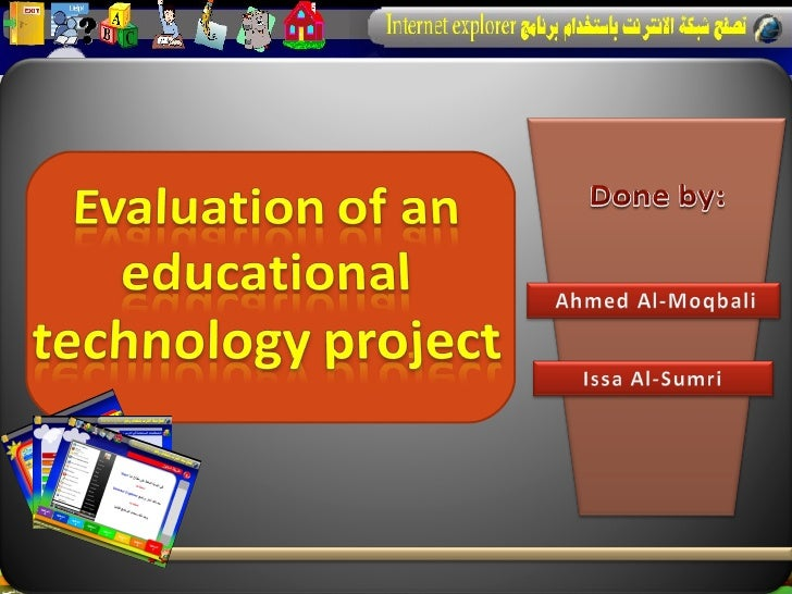 Models of evaluation in educational technology