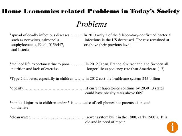 What are common problems in today's society?