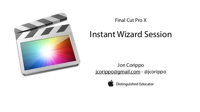 FCPX Instant Wizard