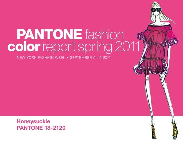 Pantone Spring 2011