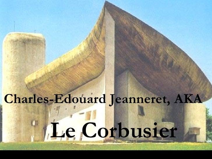 FCSarch 36 Le Corbusier