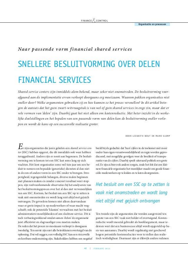 F&c snellere besluitvorming over delen financial services final