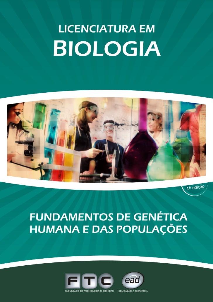 Fct    biologia - genética humana e das populações