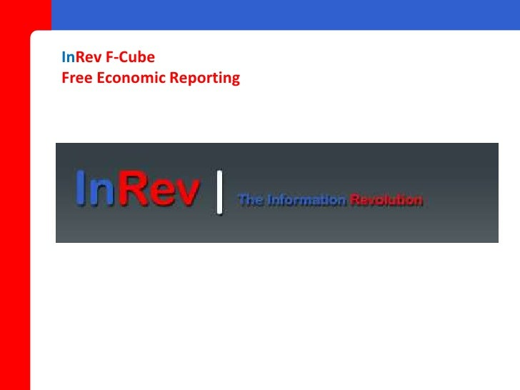 InRev F-Cube Free Economic Reporting