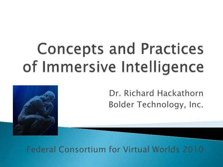Concepts of Immersive Intelligence