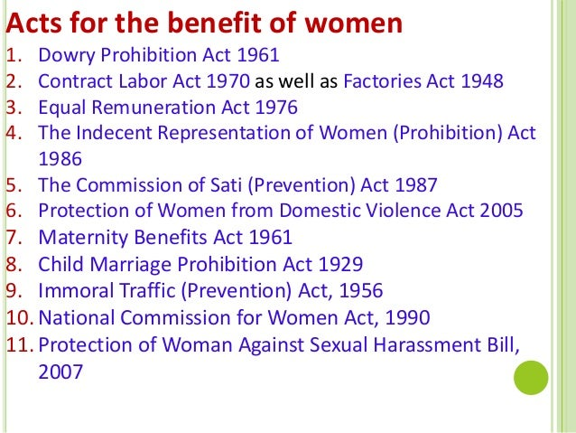 the maternity benefits act