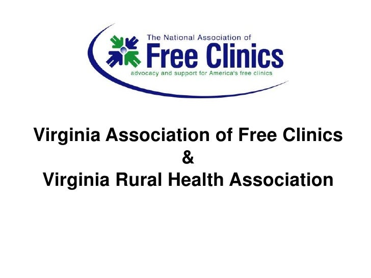 Virginia Association of Free Clinics<br />&<br />Virginia Rural Health Association<br />
