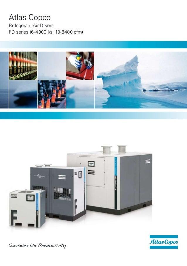 Atlas CopcoRefrigerant Air DryersFD series (6-4000 l/s, 13-8480 cfm)