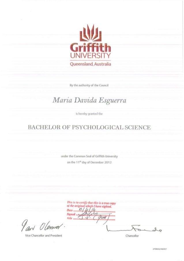 GRIFFITH BACHELOR