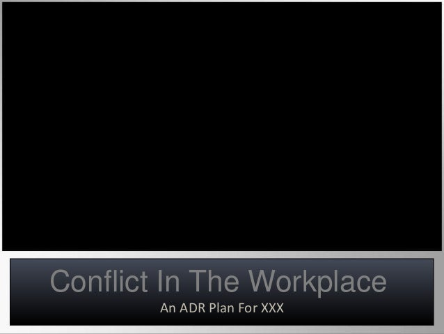 Dealing with workplace conflict case studies