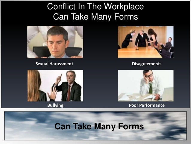 conflict resolution case study in the workplace Students find this exercise stimulating since it involves actual workplace  study abroad non-traditional  interpersonal communications conflict scenarios in.