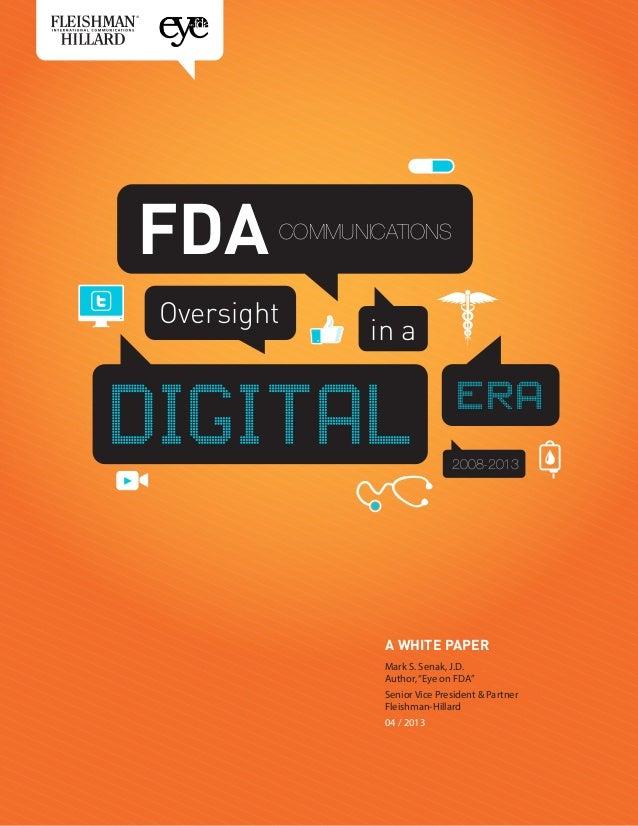 Fda communications-oversight-in-a-digital-era