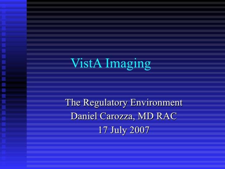 FDA Presentation 07/17/07