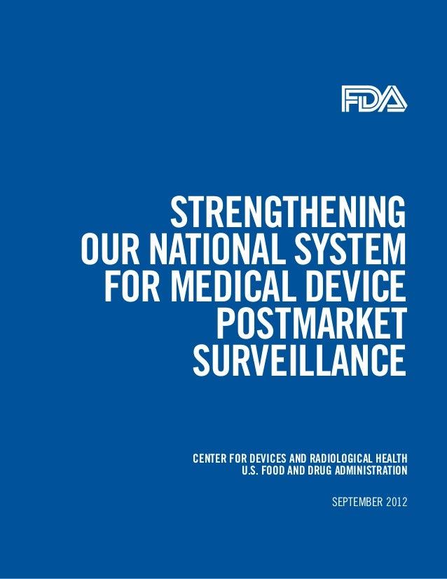 Fda postmarket surveillance-report-september-remediated
